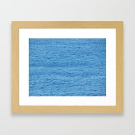 Travel around Montenegro, the Adriatic Sea Framed Art Print