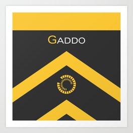 Gaddo w/ Name Art Print