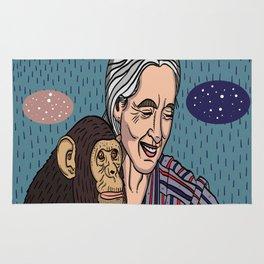 Jane Goodall Rug