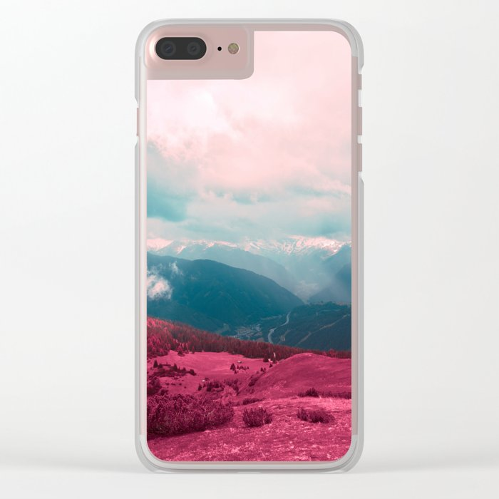 Leave Behind Clear iPhone Case