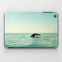 the whale iPad Cases featuring Whale by Julia Aufschnaiter