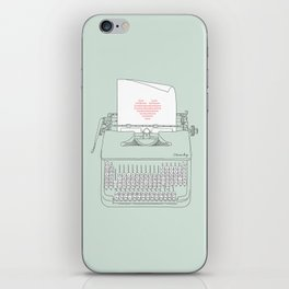 The Chemistry of Love iPhone Skin
