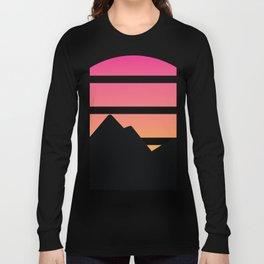 Mountain Sunset Long Sleeve T-shirt