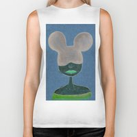 minnie Biker Tanks featuring Minnie by WickedNifty