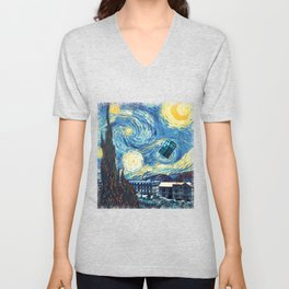 Vincent and The Doctor - Bosphorus Unisex V-Neck