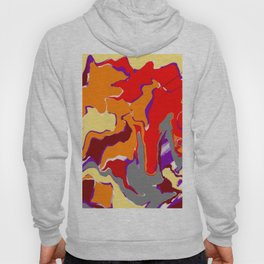 Abstract design pattern Hoody