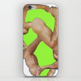 fist pump iPhone Skin