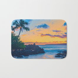Glitter Beach Bath Mat