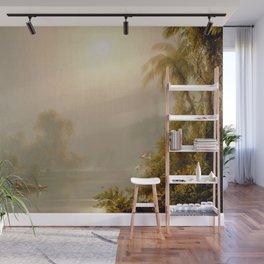 Frederick Edwin Church - Morning in the Tropics Wall Mural