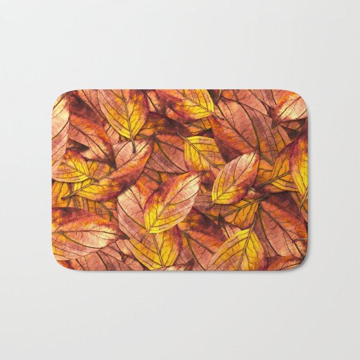 Autumn Leaves 03 Bath Mat