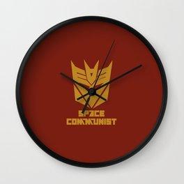 Space Communist Wall Clock