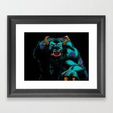 Sully2.... Framed Art Print