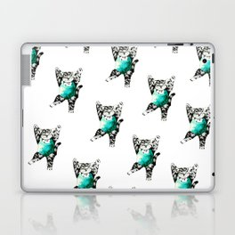 Exercise kitty cat Laptop & iPad Skin