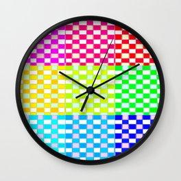 Quadro Colores Wall Clock