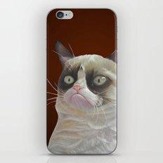 Grumpy-Chocolate iPhone & iPod Skin