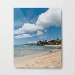 Poipu beach Metal Print