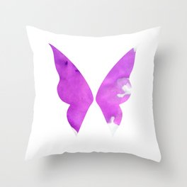 Dark Fairy Throw Pillow