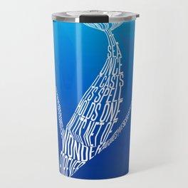 Whale song Travel Mug