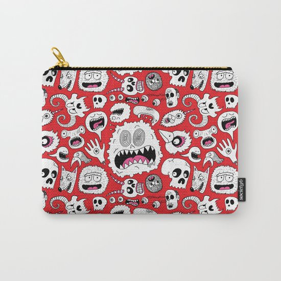 Another Monster Pattern Carry-All Pouch