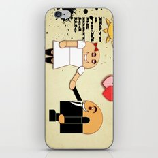 JUST MARRIED iPhone & iPod Skin