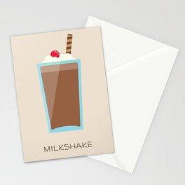 Chocolate Milkshake Stationery Cards