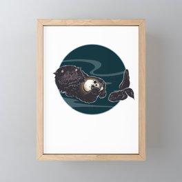 Mine Framed Mini Art Print