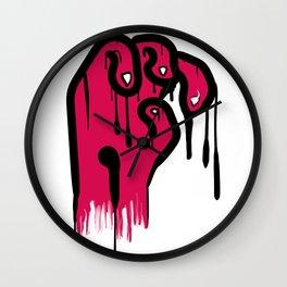 Your Hand Sucks Wall Clock