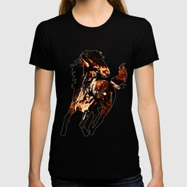 horse splatter watercolor T-shirt