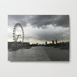 london view Metal Print