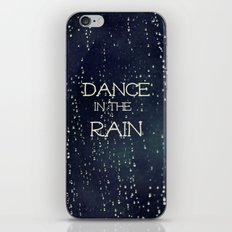 Dance in the Rain iPhone Skin