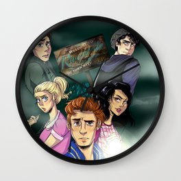 WELCOME TO RIVERDALE Wall Clock
