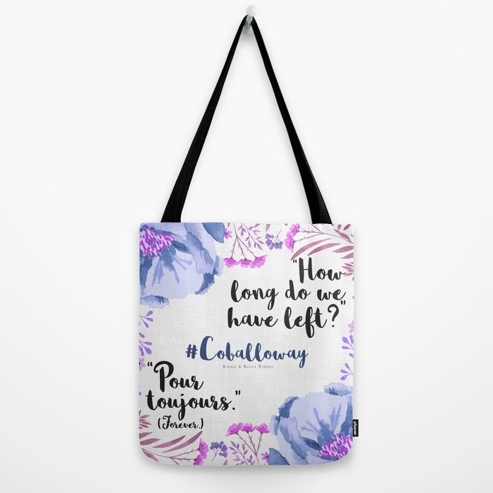 Pour Toujours Tote Bag By Fizzworld