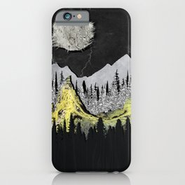 Silicone Mountains iPhone Case