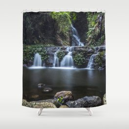 Elabana Falls in the Gold Coast Hinterlands Shower Curtain