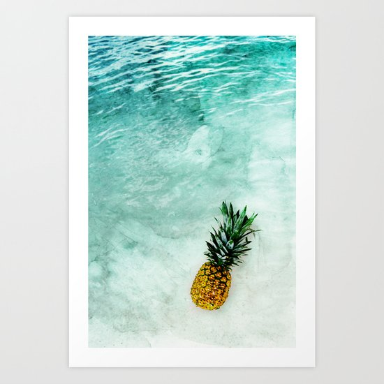 Alone in the Light Art Print