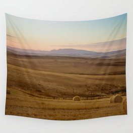 Wheat fields of the Overberg - Landscape Photography Wall Tapestry