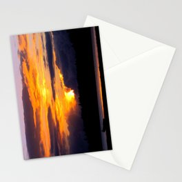 Sunset Hoquiam Airport Stationery Cards