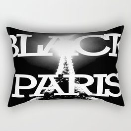 BLACK PARIS Rectangular Pillow