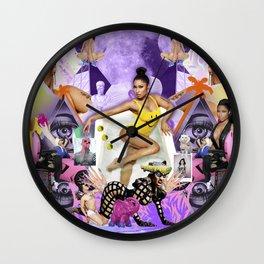 H A P P Y :) Wall Clock