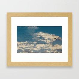 Isaiah 40 31 Framed Art Print