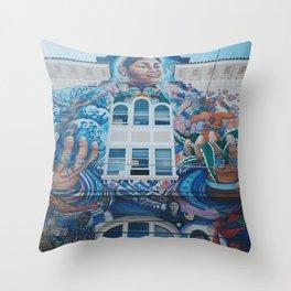 Under the Art Throw Pillow
