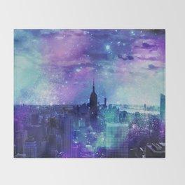 New York Night Throw Blanket