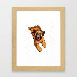 Keeley PNG Framed Art Print