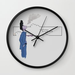 Slipping Away Wall Clock