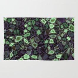 Fractal Gems 04 - Emerald Dreams Rug