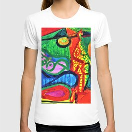 12,000pixel-500dpi - Pablo Picasso - Reclining woman and character - Digital Remastered Edition T-shirt