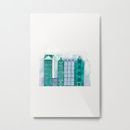 Apartments Metal Print