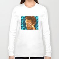 david bowie Long Sleeve T-shirts featuring Bowie  by Beth Gatza
