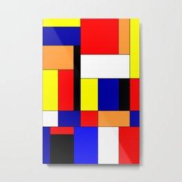 Mondrian #9 Metal Print
