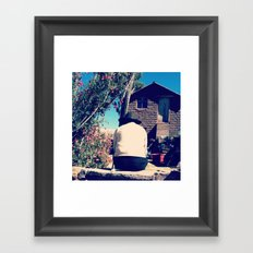 The First World is Overrated Framed Art Print